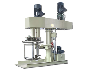 High speed vacuum disperser